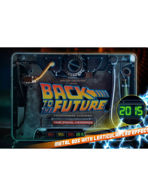 Time Travel Memories Regreso al Futuro Platinum Edition Doctor Collector