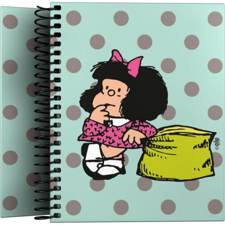 Cuaderno A6 Mafalda Dots