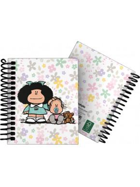 Cuaderno A6 Mafalda Flores