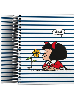 Cuaderno A6 Mafalda Marinera