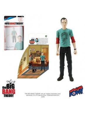 The Big Bang Theory Figura con Diorama Sheldon Riddler Shirt 10 cm