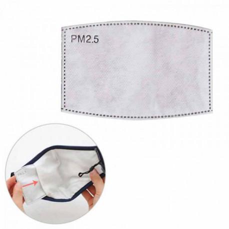 Filtro para mascarillas PM2.5
