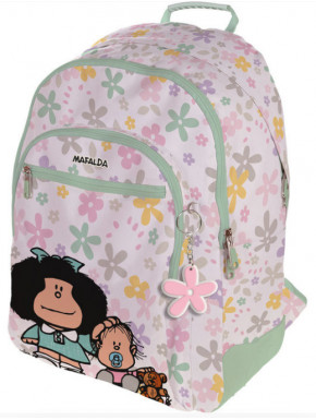 Mochila Mafalda Flores
