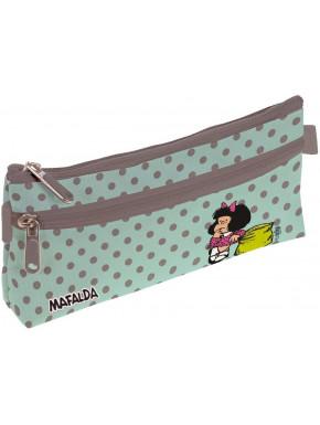 Estuche portatodo Mafalda Dots