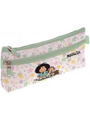 Estuche portatodo Mafalda Flor