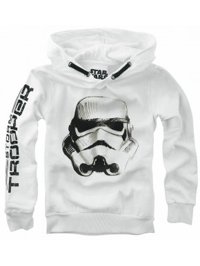 Sudadera niño Trooper Star Wars