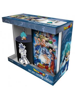 "DRAGON BALL SUPER - Pck Mug320ml + Keyring PVC + Notebook ""Goku"""