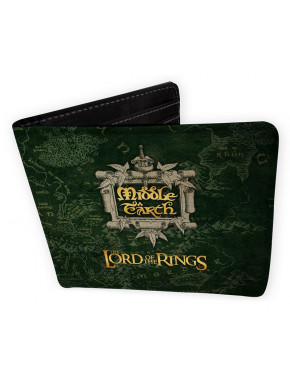 "LORD OF THE RINGS - Wallet ""Middle Earth"" - Vinyl"