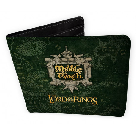 """LORD OF THE RINGS - Wallet """"Middle Earth"""" - Vinyl"""