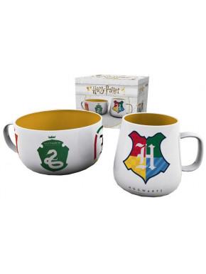 Set de Tazas de Desayuno Harry Potter Houses