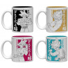 Set de 4 Mini Tazas Goku Dragon Ball