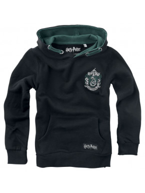 Sudadera niño Slytherin Blackletter Harry Potter