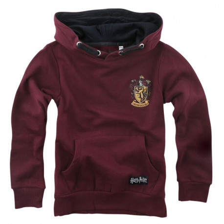 Sudadera niño Gryffindor Blackletter Harry Potter