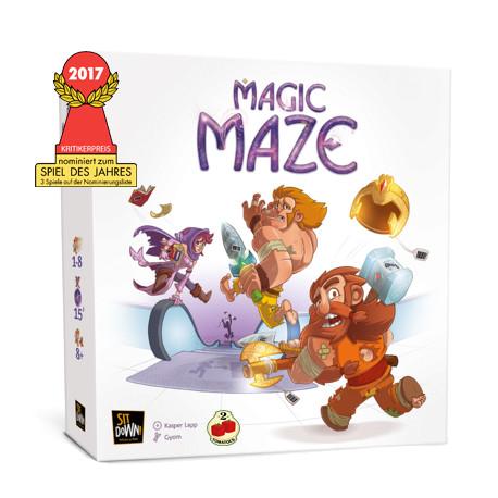 Magic Maze juego de mesa