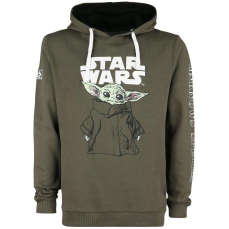 Sudadera Baby Yoda El Mandaloriano