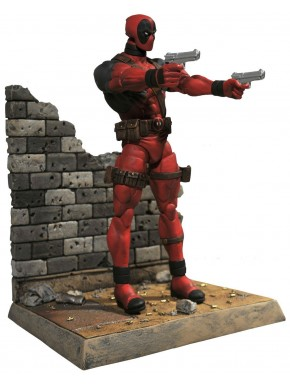 figura Marvel Select Deadpool Pistolas
