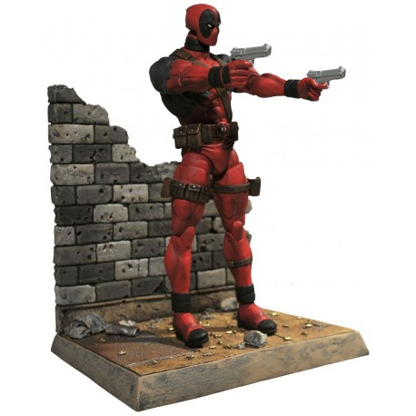 figura Marvel Select Deadpool Pistolas