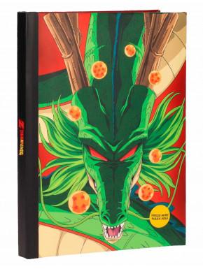 Libreta con luz Shenron Dragon Ball Z