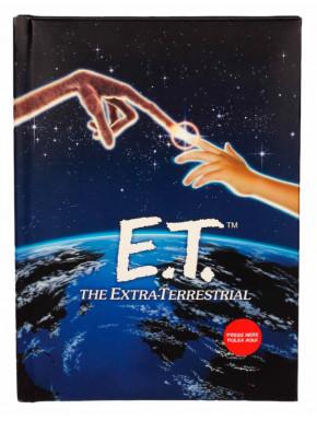 E.T. El Extraterrestre Libreta con luz