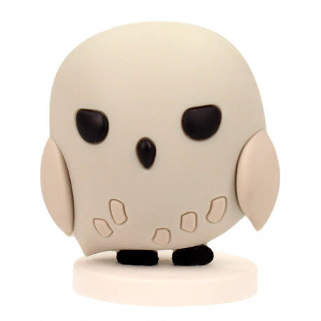 Mini Figura Goma Hedwig HARRY POTTER