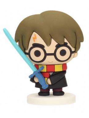 Mini figura de goma Harry Potter con Espada de Griffyndor
