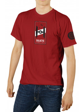 Camiseta Galactic Empire Star Wars roja