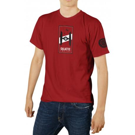 Camiseta Galactic Empire Star Wars roja