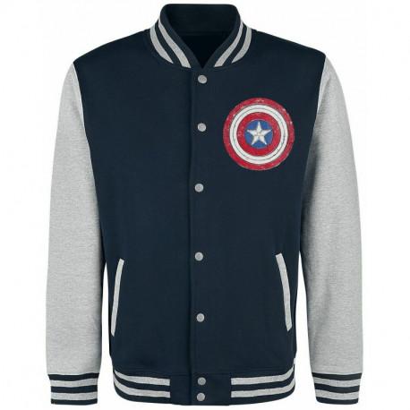 Chaqueta Beisbolera Capitán América