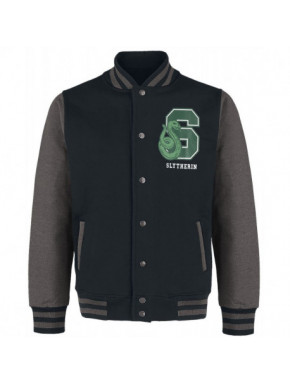 Chaqueta Beisbolera Slytherin Harry Potter