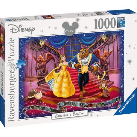 Puzzle La Bella y la Bestia (1000 piezas) Disney
