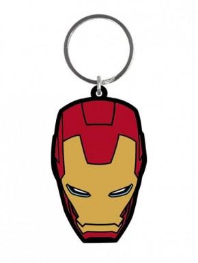 Llavero Caucho Iron Man