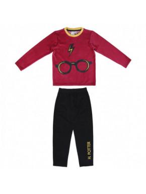Pijama Harry Potter terciopelo niño