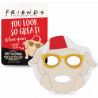 Mascarilla facial Friends Pavo