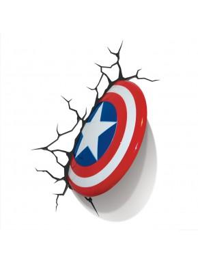 Lampara de pared escudo Capitan America