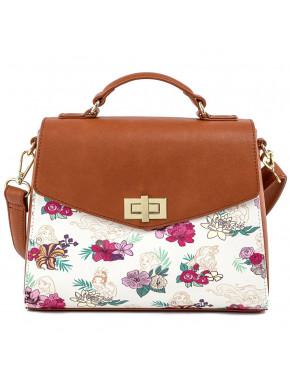 Bolso de mano floral Disney