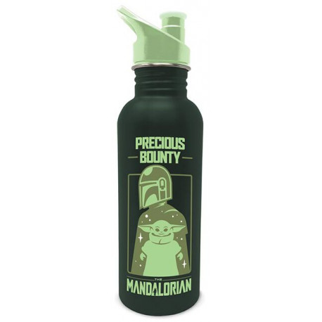Botella metálica The Mandalorian Precious Bounty