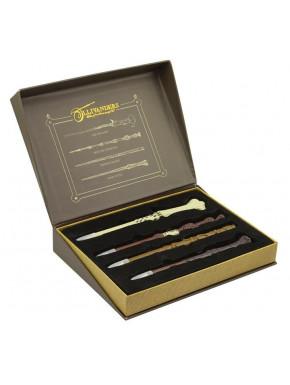 Juego bolígrafos Harry Potter Varitas Mágicas