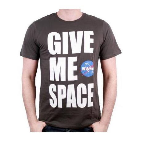 Camiseta oficial NASA gris