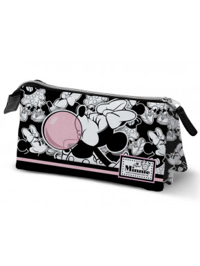 Estuche Triple Minnie Mouse Disney Pompa