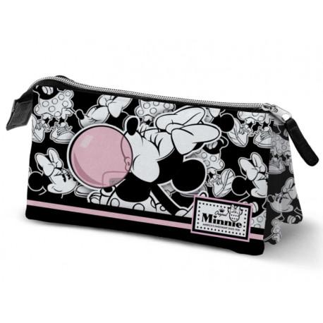 Estuche Triple Minnie Mouse Disney Pompa