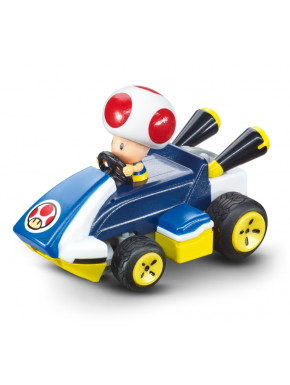Mini coche Radio control Toad Super Mario