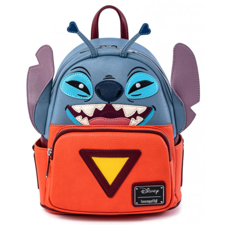 Mini Bolso Mochila Stitch Disney Loungefly Nave
