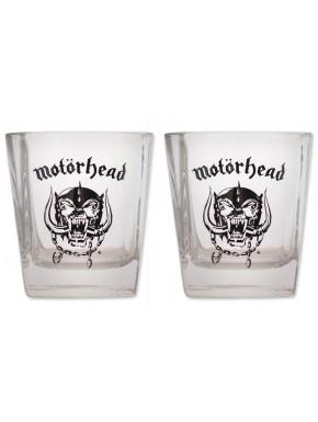 Pack de 2 Vasos de Whiskey Motorhead