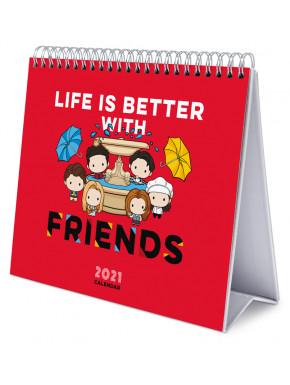 Calendario de Mesa 2021 Friends