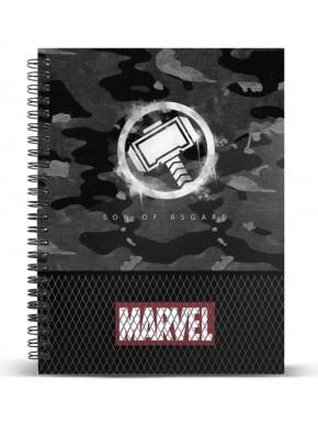 MARVEL Cuaderno A5 THOR - Hammer