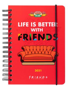 Agenda Semanal A5 Friends