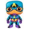 Funko POP! Capitán América Marvel Black Light Special Edition