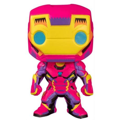 Funko POP! Figura Iron Man 9 cm Marvel Black Light