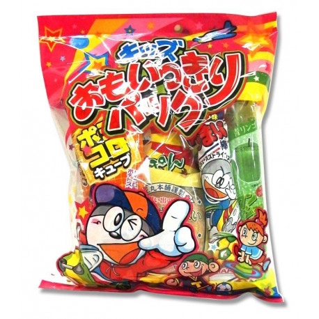 Mix 7 snacks japoneses