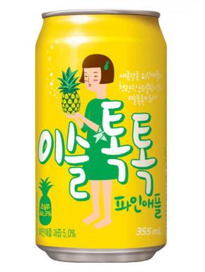 Soju coreano sabor piña
